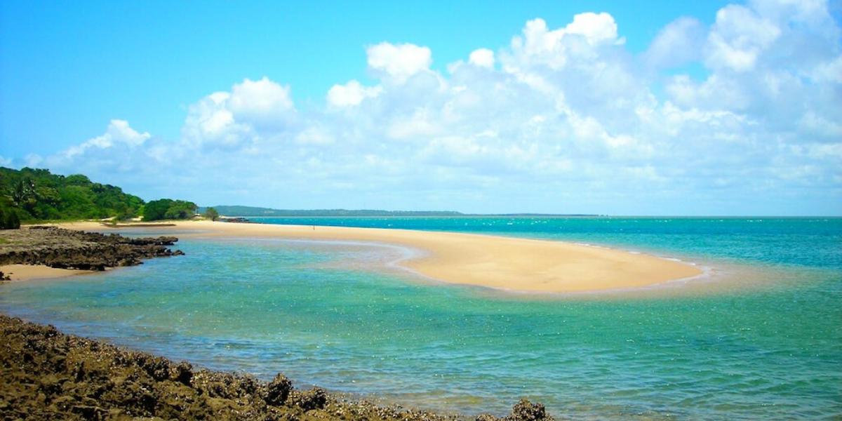 Inhaca Island beach